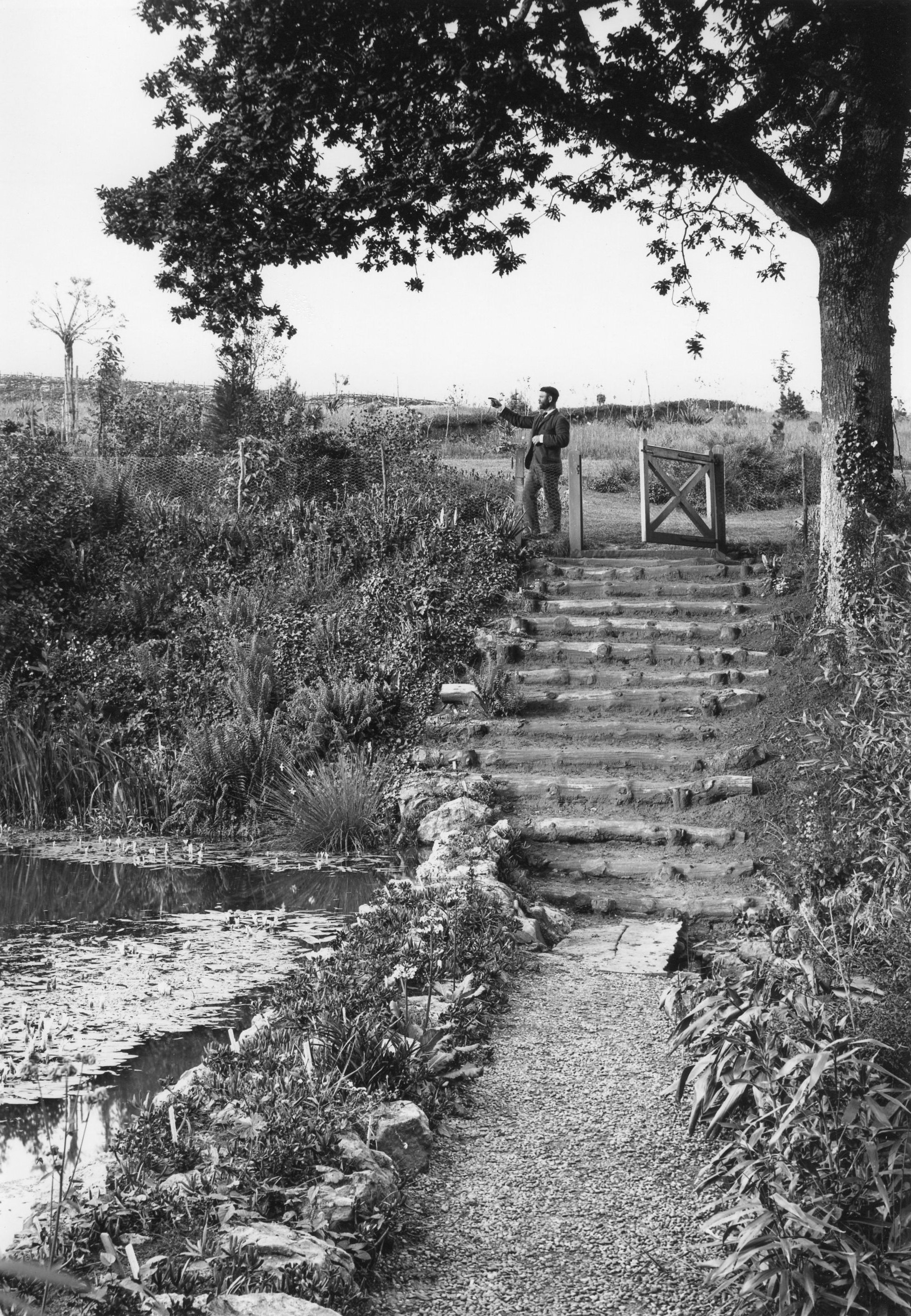 The Top Pond in 1898