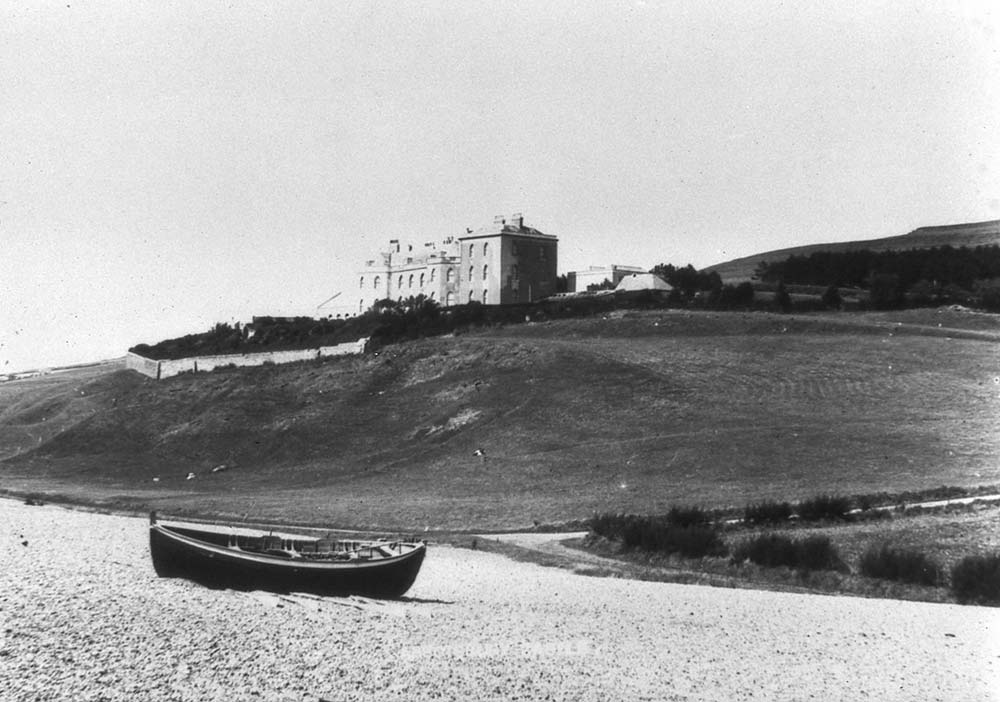 Abbotsbury Castle, photographed in 1890