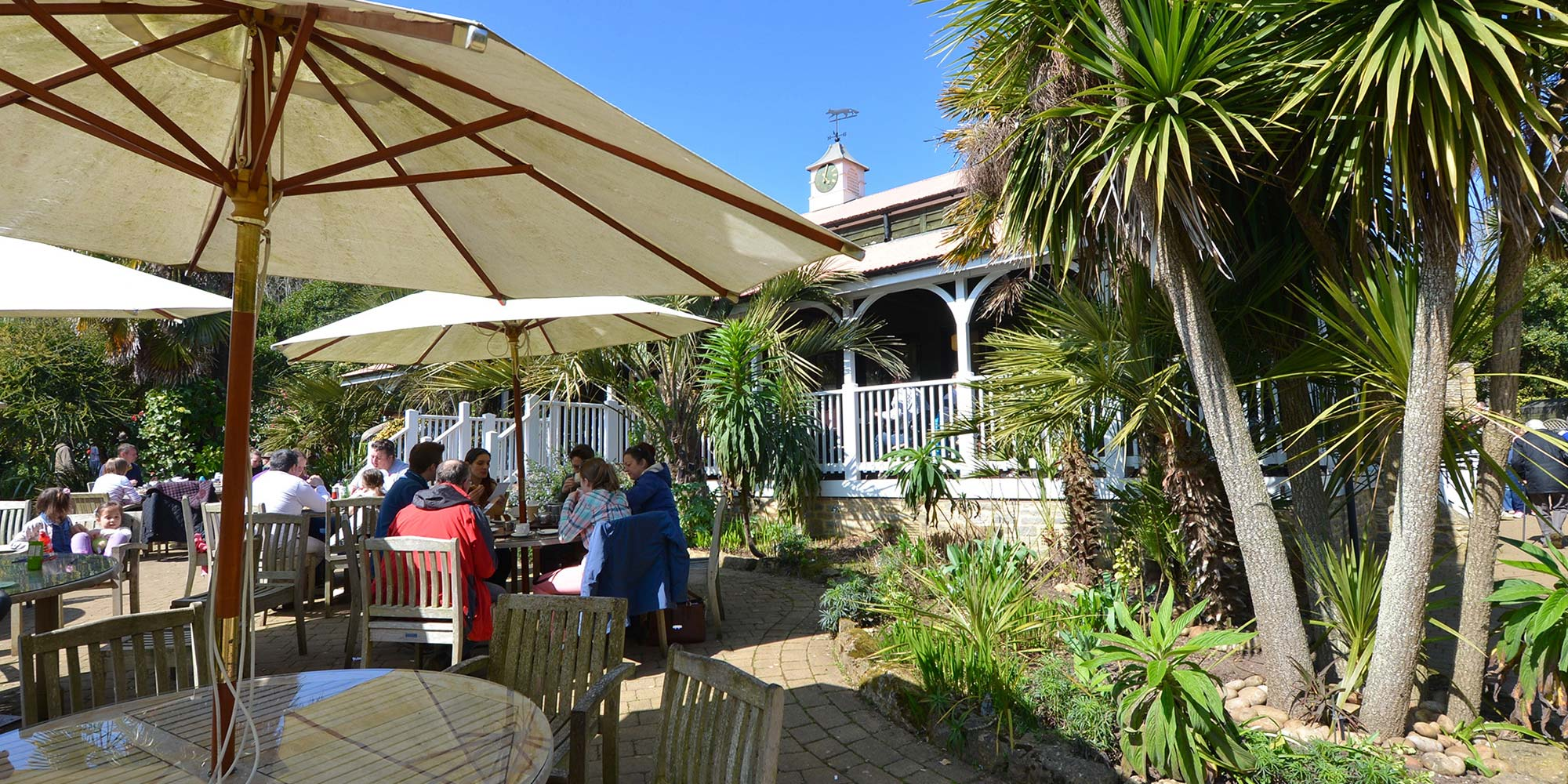 The Colonial Restaurant at Abbotsbury Subtropical Gardens