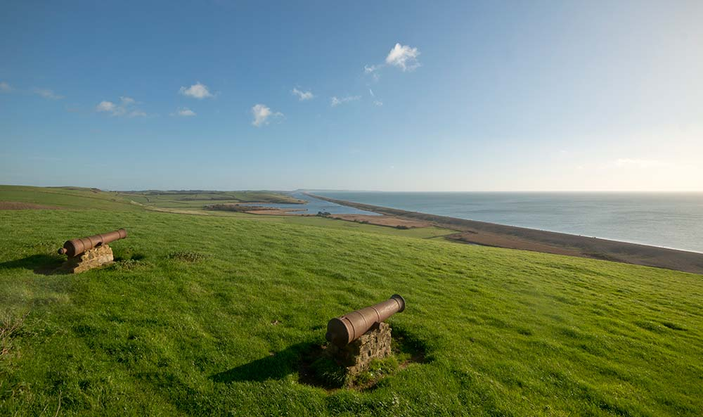 Cannons On The Jurassic Coast Lookout