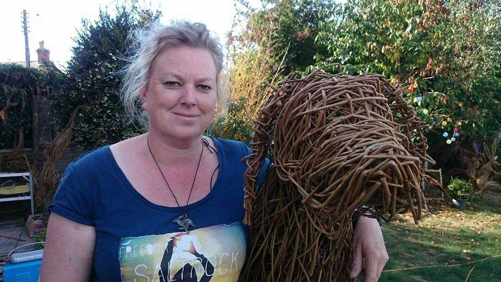 Jo Sadler Willow Workshops at Abbotsbury Subtropical Gardens