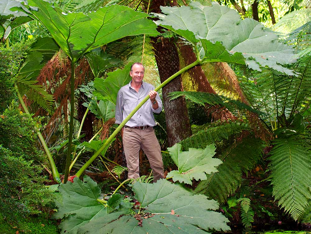 Steve Griffith - Curator at Abbotsbury Subtropical Gardens