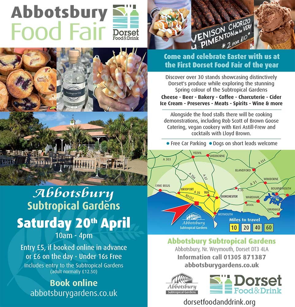 Abbotsbury Food Fair - 20th April 2019