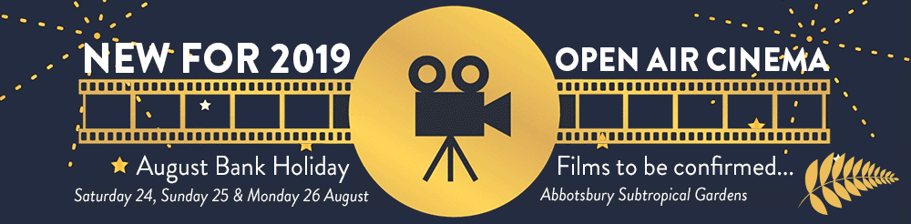 Open Air Cinema at Abbotsbury Subtropical Gardens