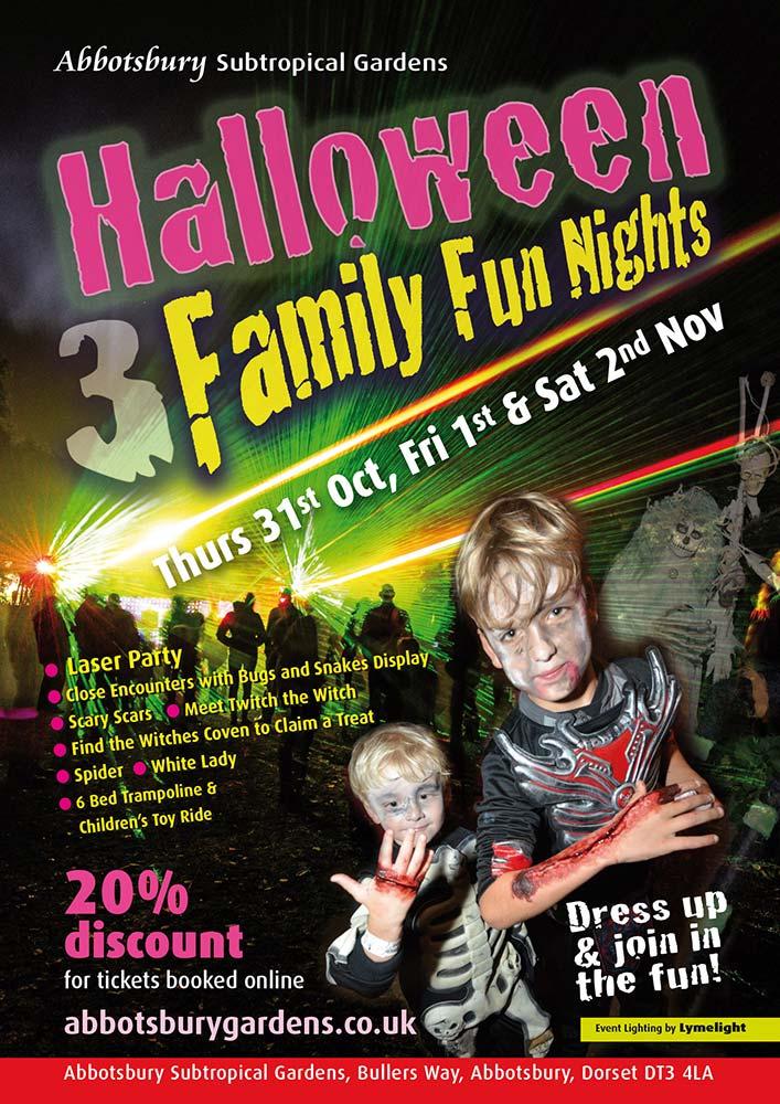 Halloween Family Fun Nights at Abbotsbury Subtropical Gardens