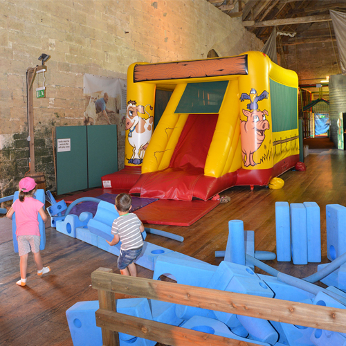 Tithe Barn Bouncy castle