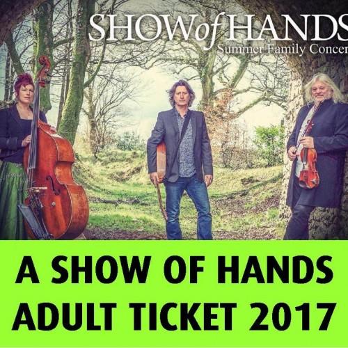 Adult ticket 2017