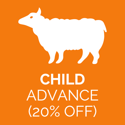 Child advance ticket for Abbotsbury Children's Farm