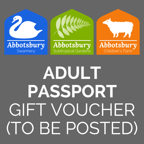 Adult Passport Ticket for Abbotsbury attractions