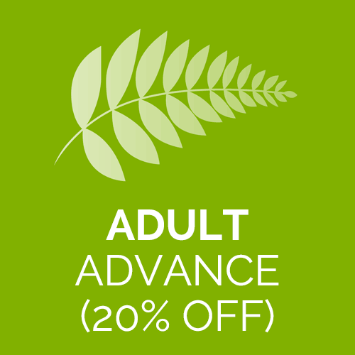Adult advance ticket for Abbotsbury Subtropical Gardens