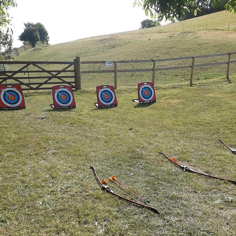 Archery with A2Z Adventures at Abbotsbury Children's Farm