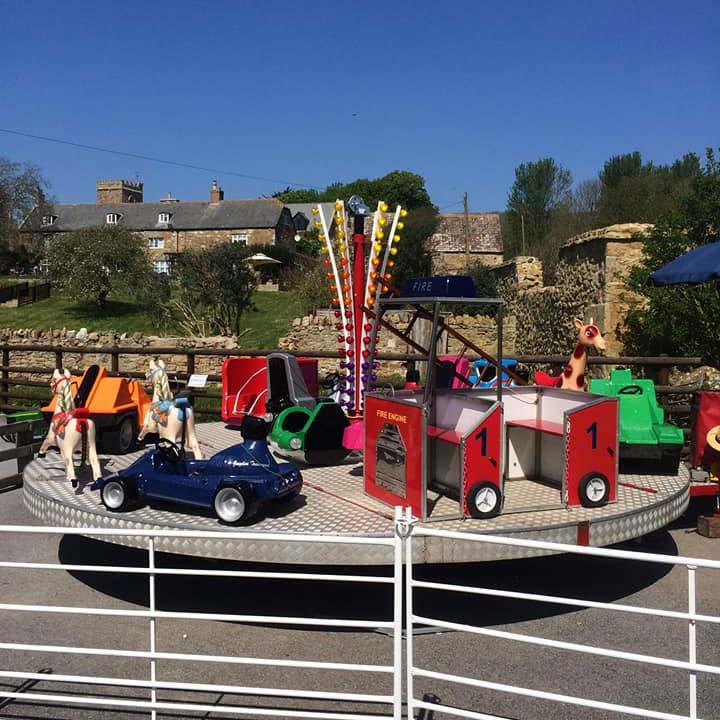 Fairground Rides At Abbotsbury Children's Farm