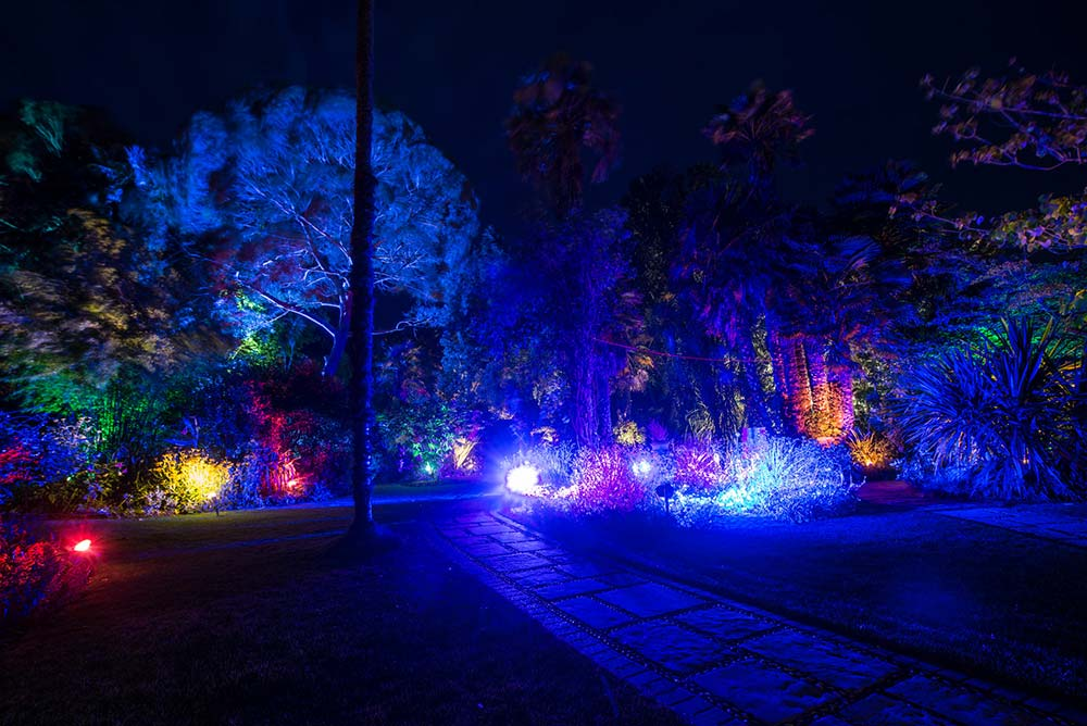 Victorian Walled Garden Lit Up By The Enchanted Illuminations