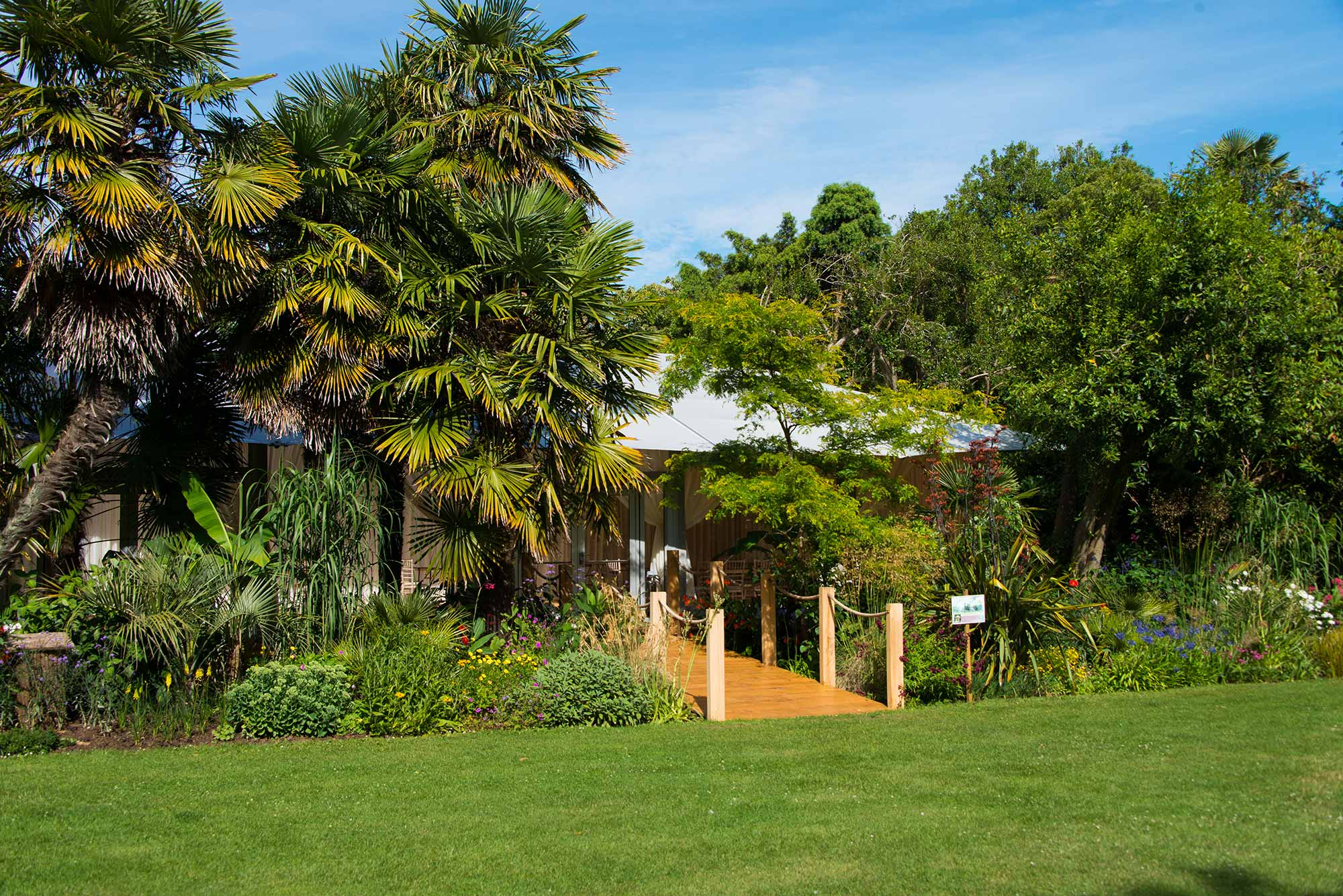 New Wedding and function Pavilion at Abbotsbury Subtropical Gardens
