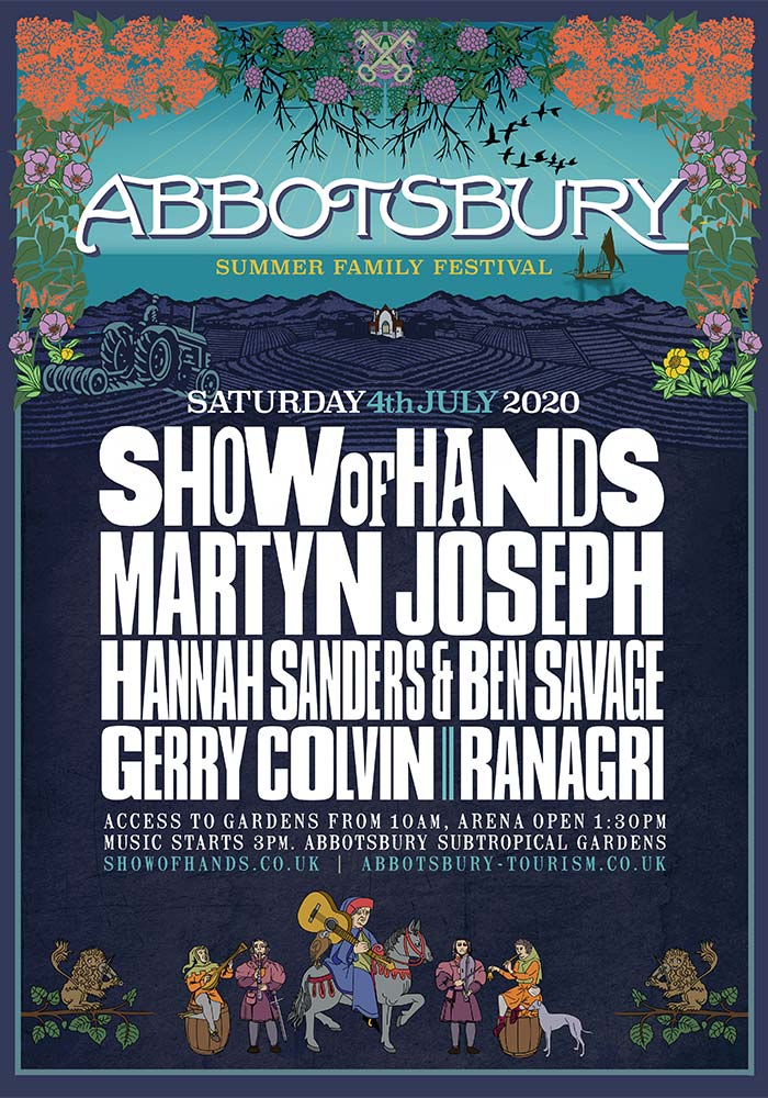 Show of Hands 2020 at Abbotsbury Subtropical Gardens