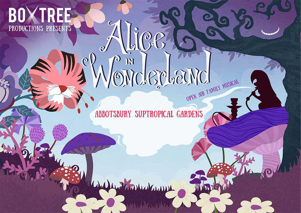 Alice in Wonderland at Abbotsbury Subtropical Gardens - Sunday 1st August 2021Alice in Wonderland at Abbotsbury Subtropical Gardens - Sunday 1st August 2021