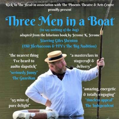 Three Men in a Boat at Abbotsbury Subtropical Gardens - Sunday 15th August 2021