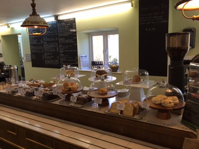 Inside Abbotsbury Swannery's Cafe