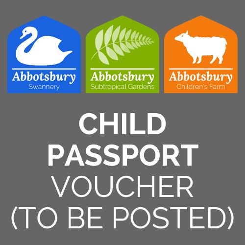 Passport Ticket - Child voucher