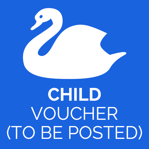 Abbotsbury Swannery child ticket voucher